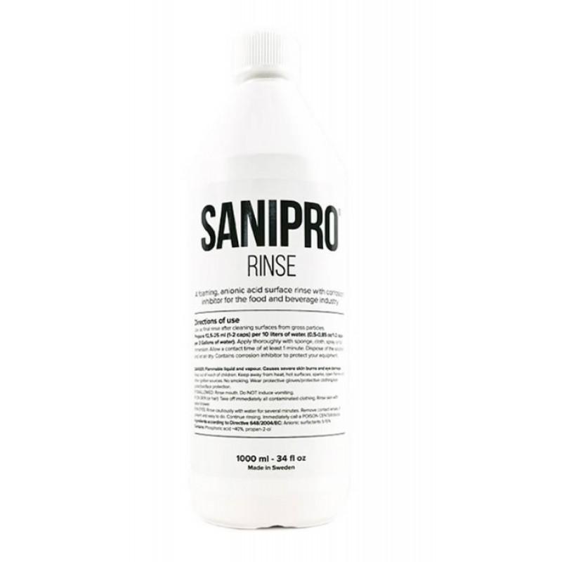 Dezinfekuojanti priemonė SANIPRO RINSE 1000ml