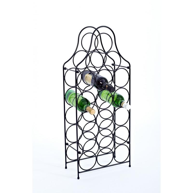 18 vietų vyno butelių stovas