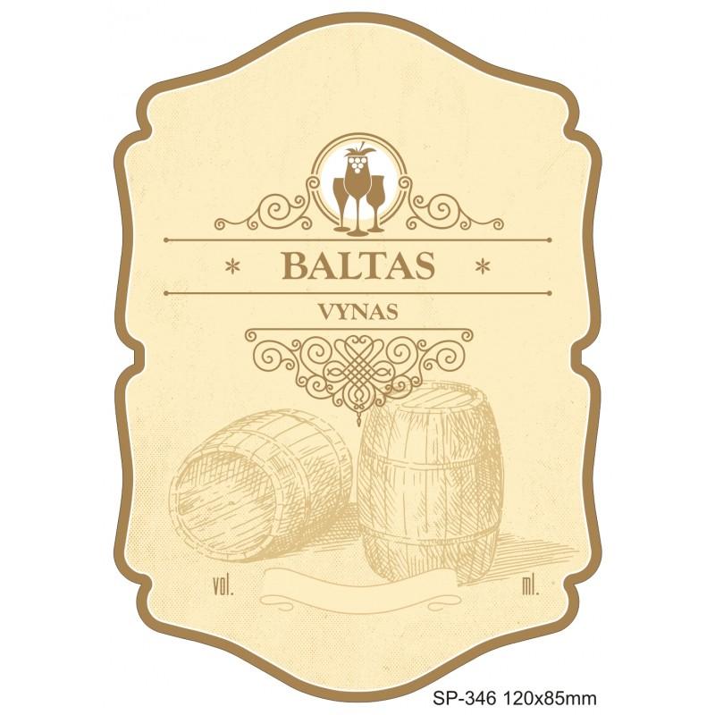 BALTO VYNO etiketė