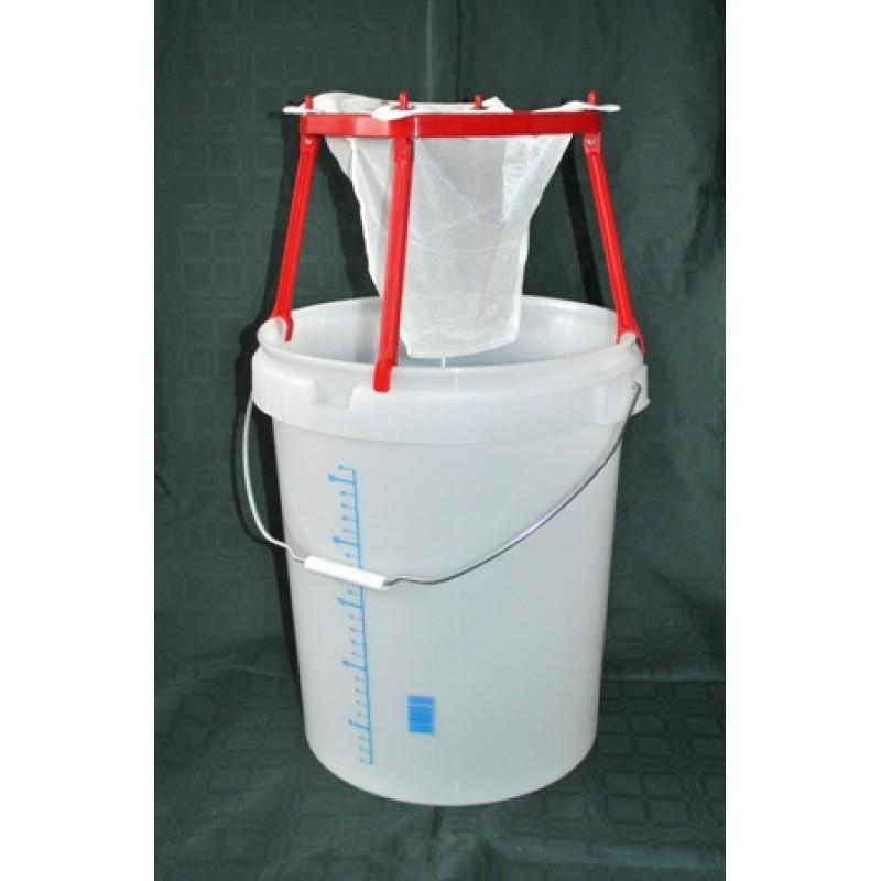 Medžiaginis pakabinamas filtras su stoveliu