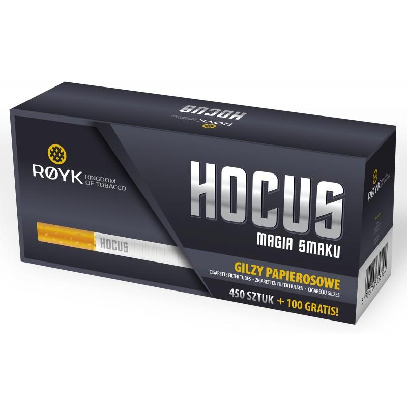Cigarečių tūtelės HOCUS 550
