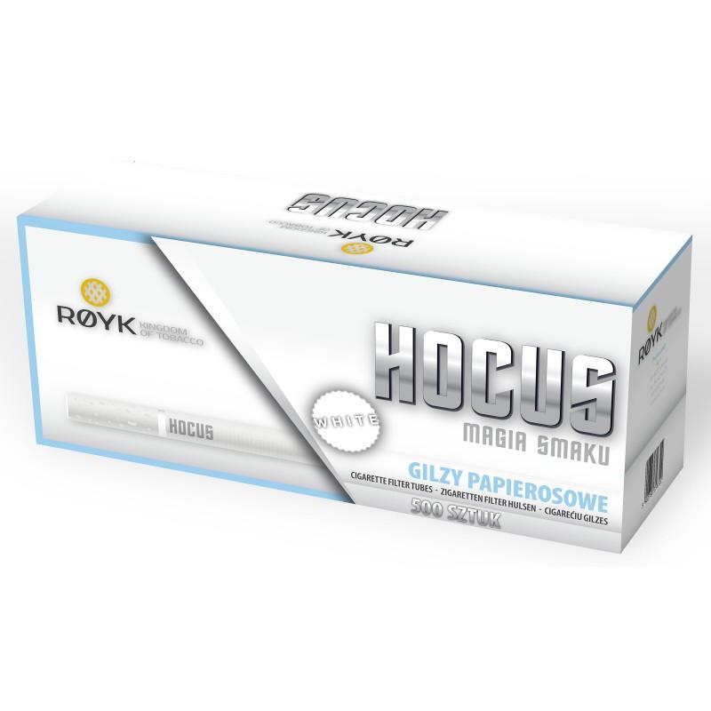 Cigarečių tūtelės HOCUS WHITE 500