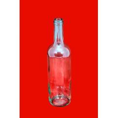 Skaidraus stiklo buteliai 0.75ltr.