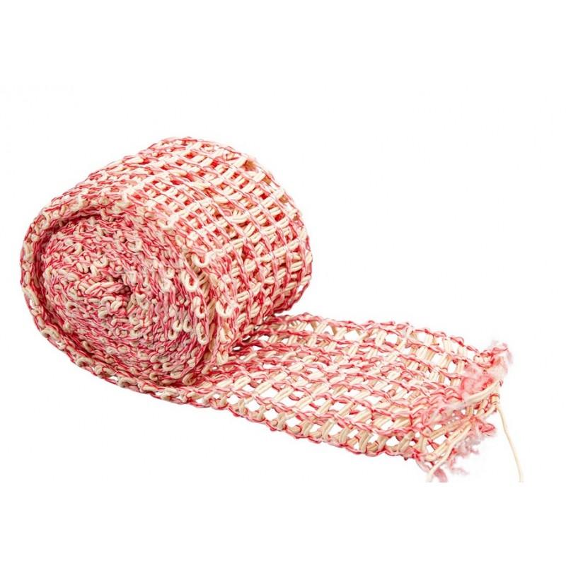 Mėsos tinklas (220C) 18 cm, raudonas - 3 m