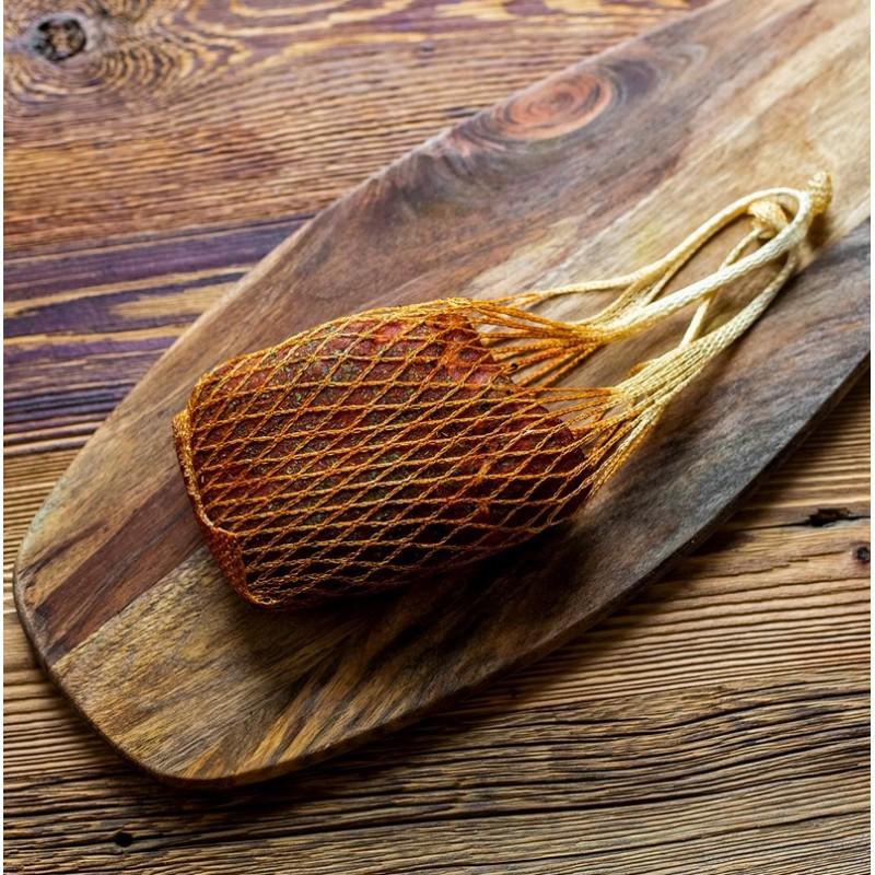 Mėsos tinklinis maišelis pakabinimui (125C) 42cm