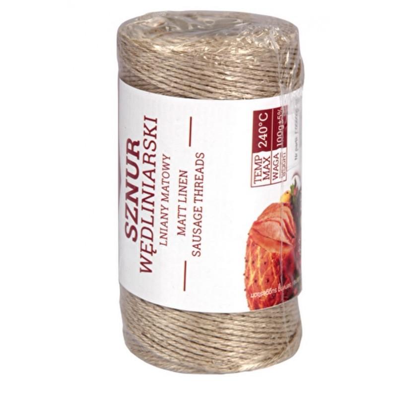 Matinis lininis špagatas mėsai rišti, 100g 240 ...