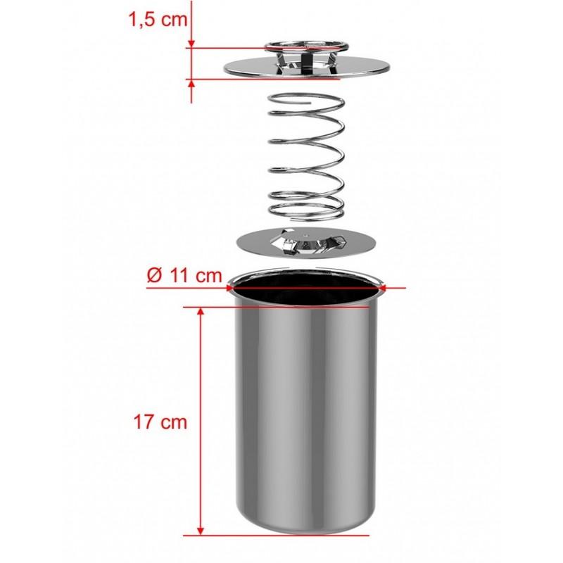 Nerūdijančio plieno kumpio virimo aparatas  1,5 kg