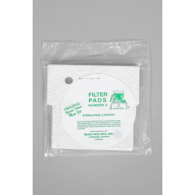 Nr.3 MINI JET filto 3 filtravimo elementai