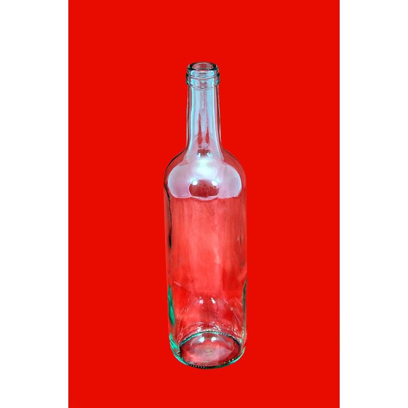 1080vnt. Skaidraus stiklo buteliai 0.75ltr. PALET�...