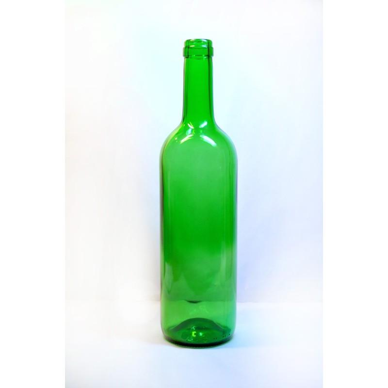 1080 vnt. Buteliu BORDO 0,75ltr. (Žalias) PALETĖ