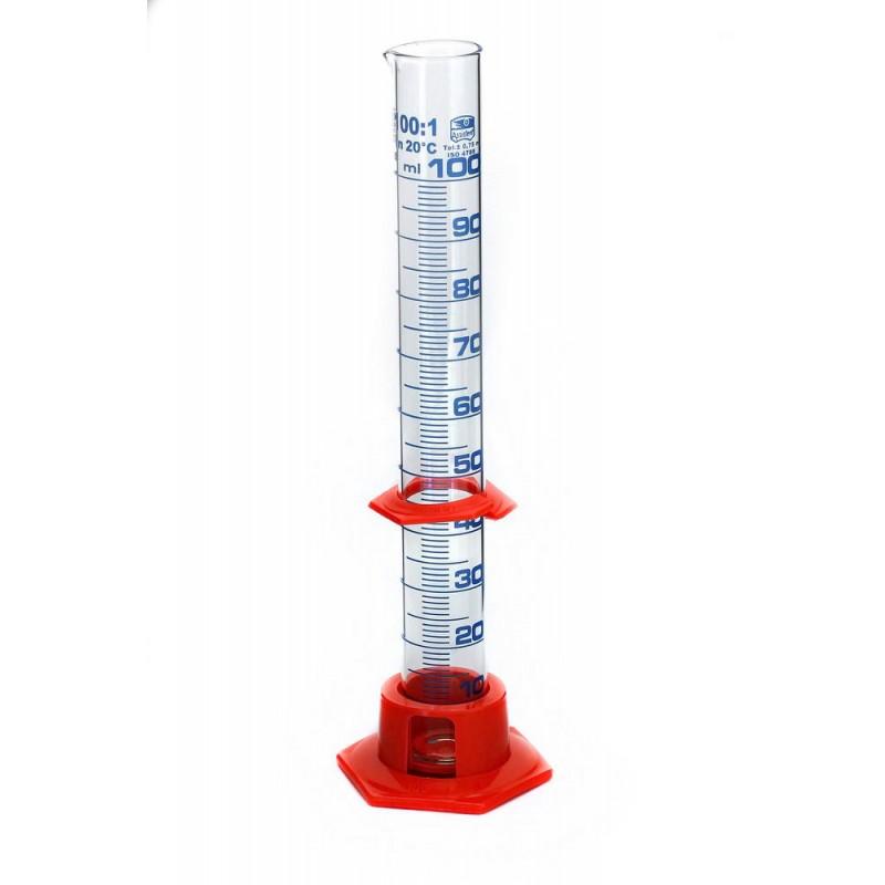 Laboratorinė 250 ml stiklinė kolba.