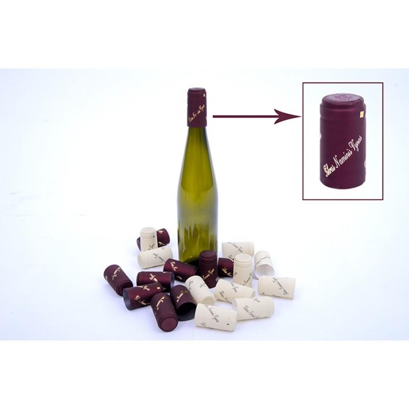 Termokapsulės vynui BORDO (Metalik) su užrašu T...