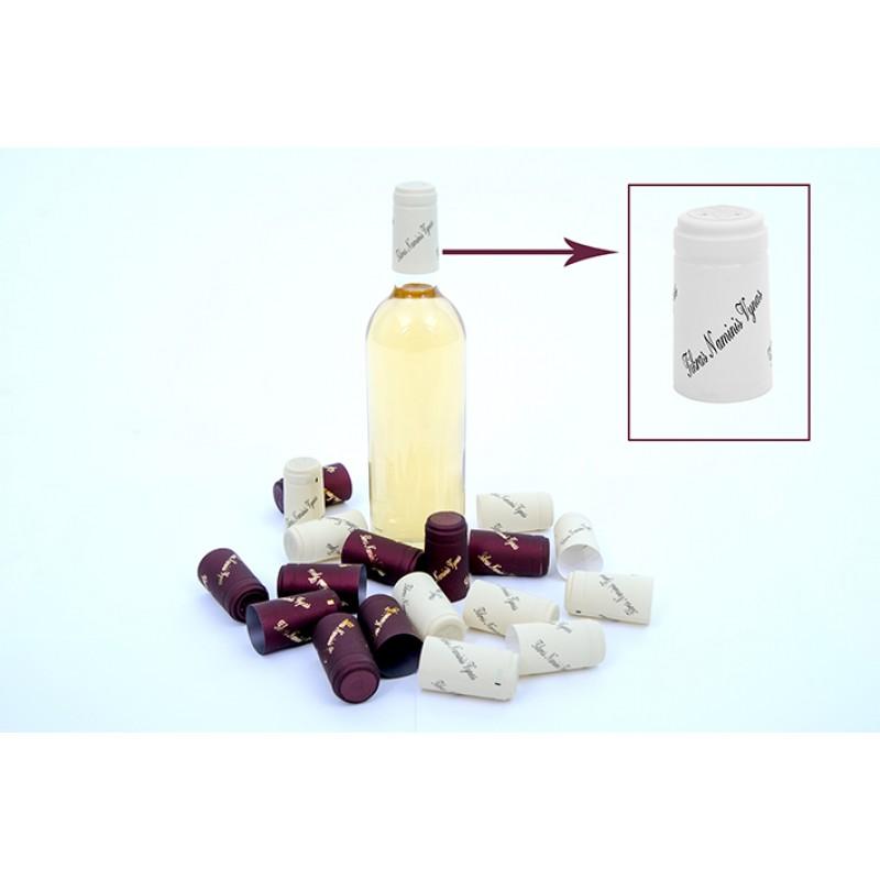 Termokapsulės vynui KREMINĖS su užrašu TIKRAS ...