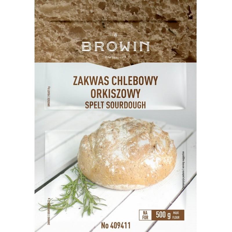 Duonos  raugas su mielėmis - 23 g