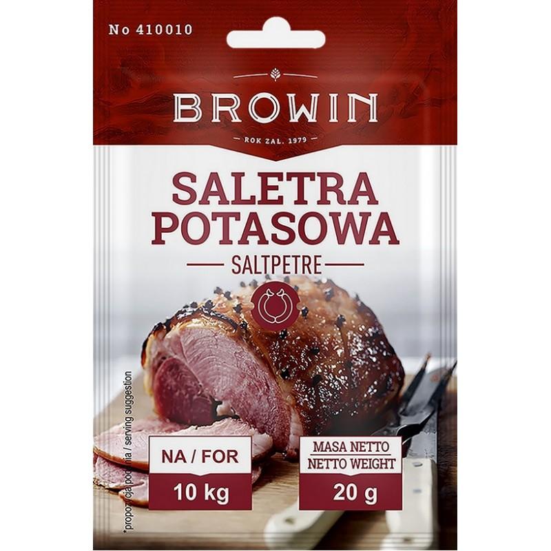 Saltpetre (kalio nitratas), skirtas mėsai kietint...