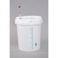 Indas (kibiras) fermentacijai su defektu