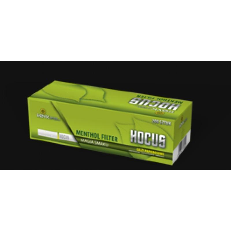 Cigarečių tūtelės MENTOL 200