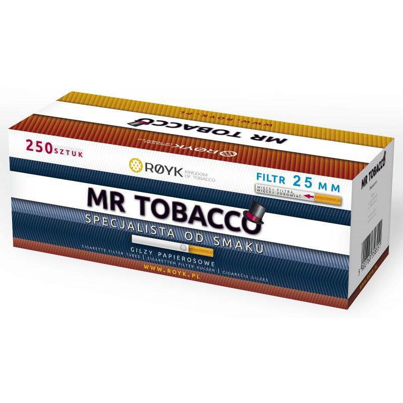 Cigarečių tūtelės MR. TOBACCO 250 - 25mm