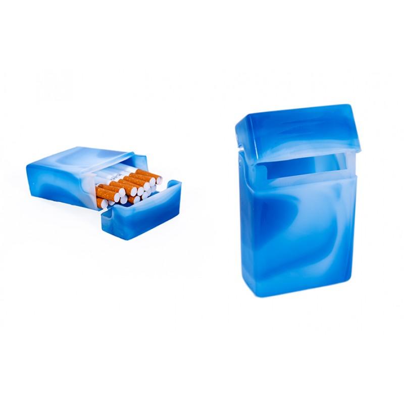 Plastikinis cigarečių pakelis