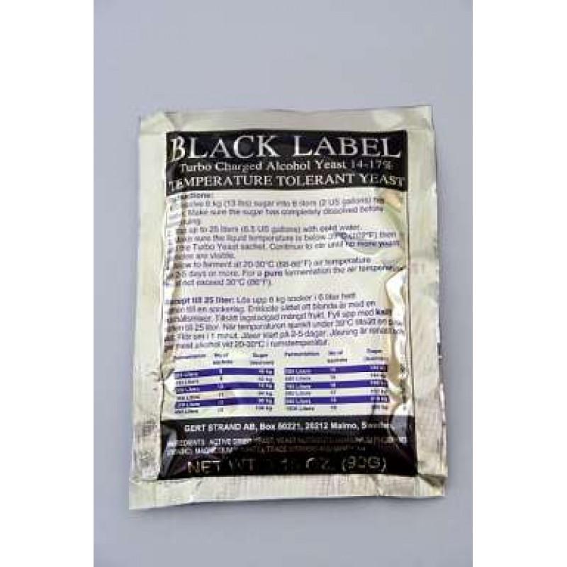 Spiritinės mielės BLACK LABEL