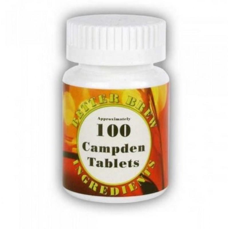 Campden tabletės