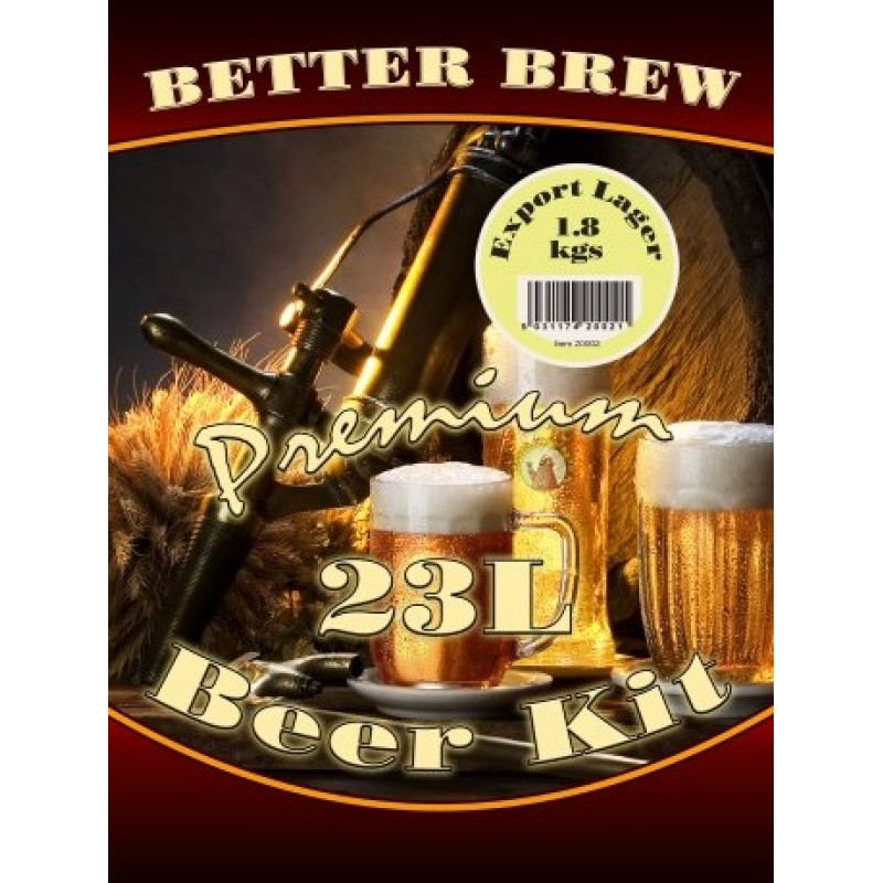 BetterBrew EXPORT LAGER