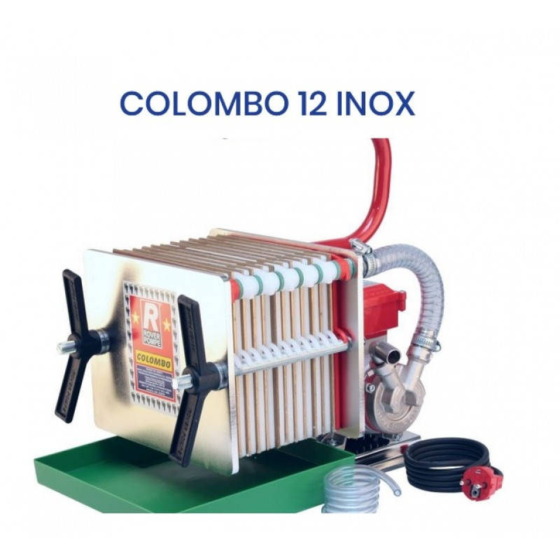 Vyno Filtras COLOMBO-12 INOX