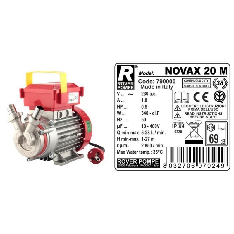Elektrinis siurblys NOVAX-20-M