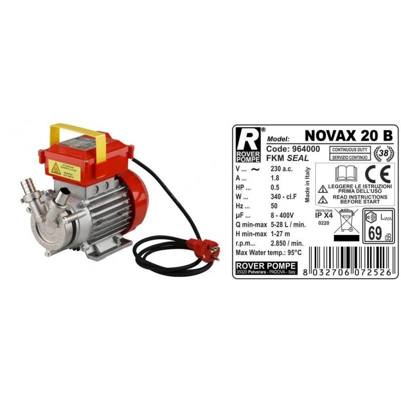 Elektrinis siurblys Novax 20-B