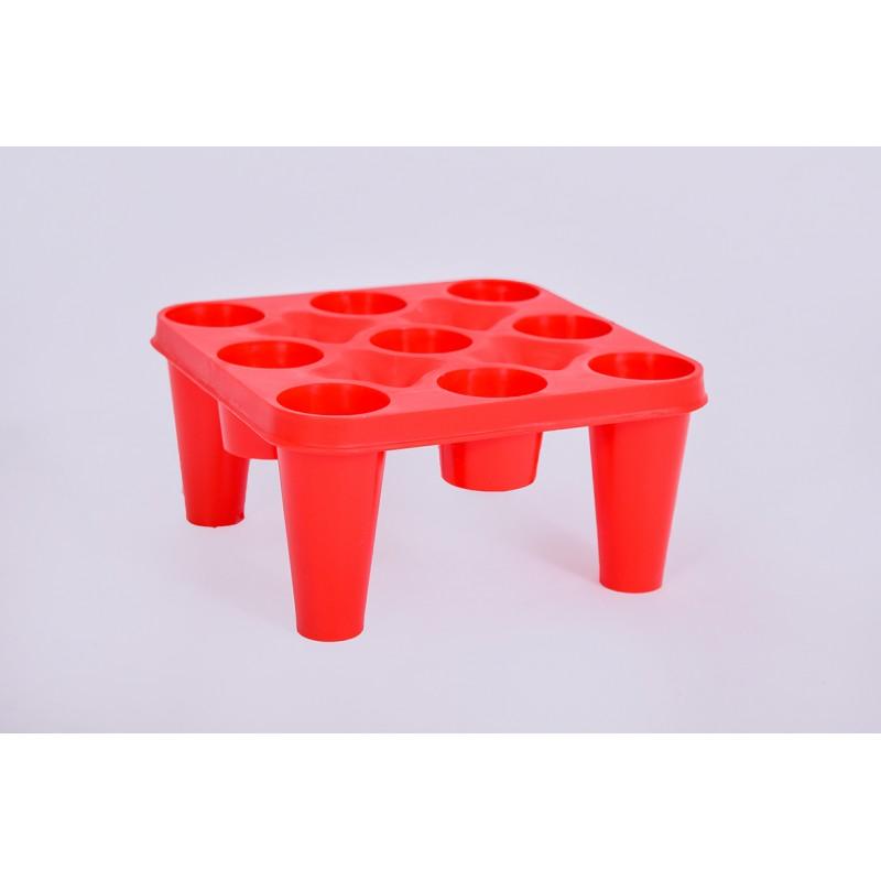 9 vietų modulis surenkamai modulinei butelių dž...