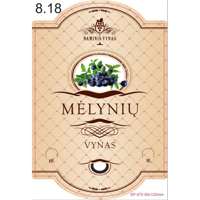 KREMINĖ Mėlynių vynas