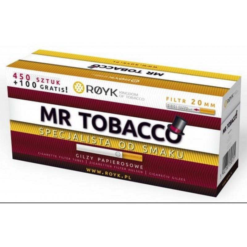 Cigarečių tūtelės MR. TOBACCO 550 - 20mm
