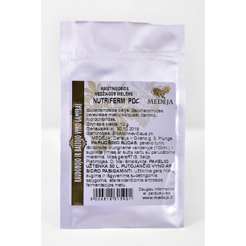 Maistingosios medžiagos NUTRIFERM PDC