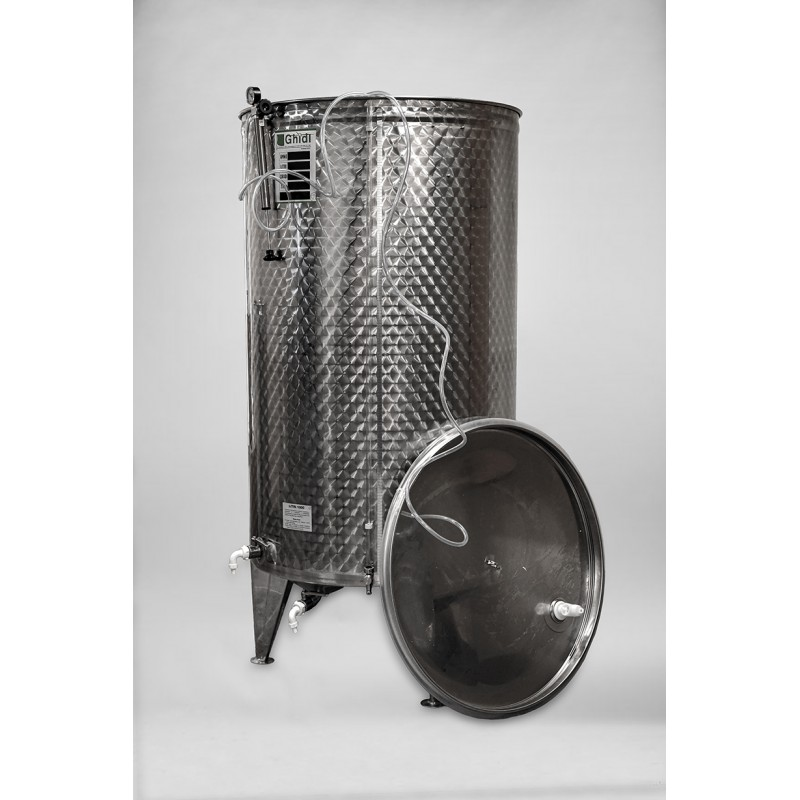 Talpa vyno fermentacijai ir brandinimui FCG  1000 ltr.