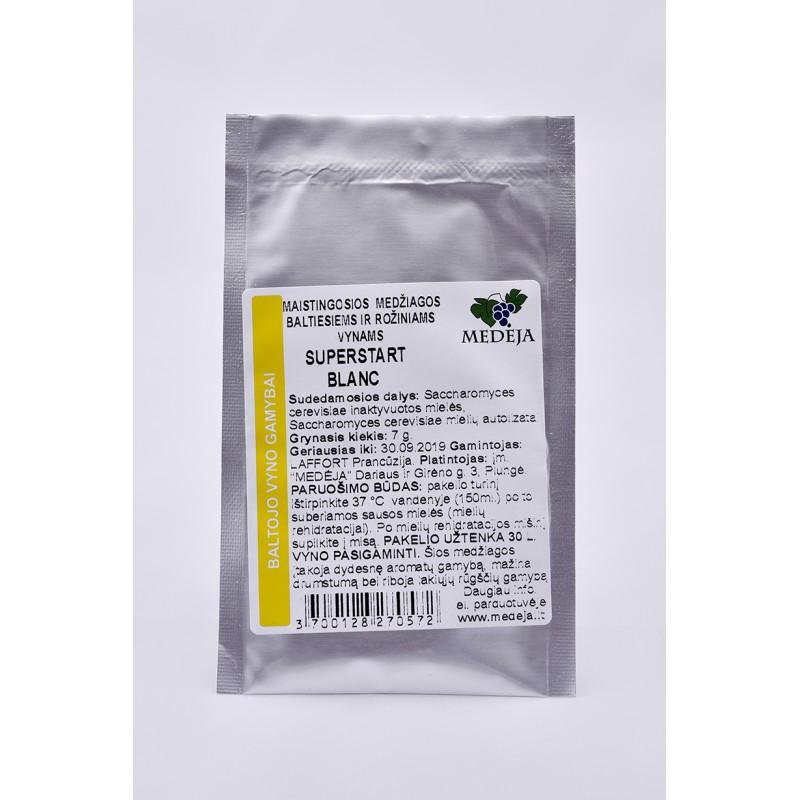 SUPERSTART  BLANC  maistingosios medžiagos 7g.