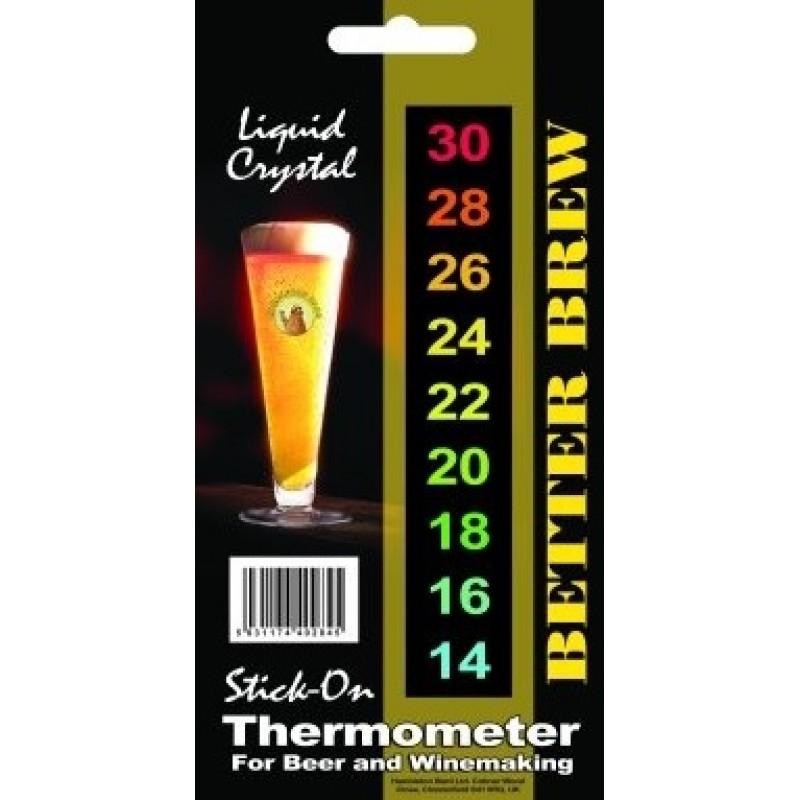 Skystųjų kristalų temperatūros matuoklis